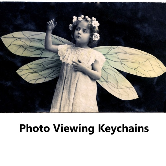 handcrafted Accessories - Photo Viewing Keychains